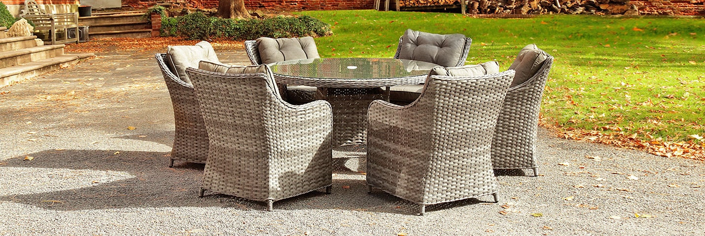 SEE OUR NEW RANGE OF OUTDOOR  DINING SETS